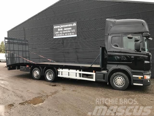 Scania R440 AUT. 6X2 KNÆKLAD M/RAMPE