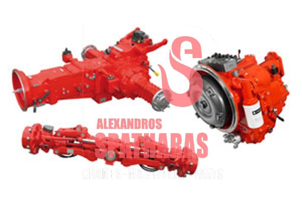 Carraro 127393forgings, various