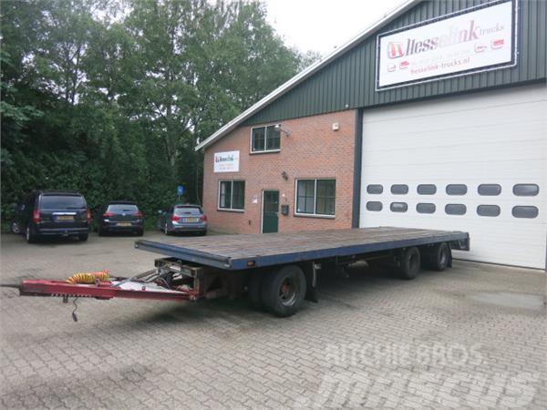 Pacton 3- AS Aanhangwagen 30 ton, Schuifbumper + Schuiftr