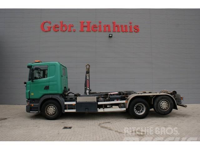 Scania G420 6x2 EEV Hiab Multilift 21 Tons Hooklift!