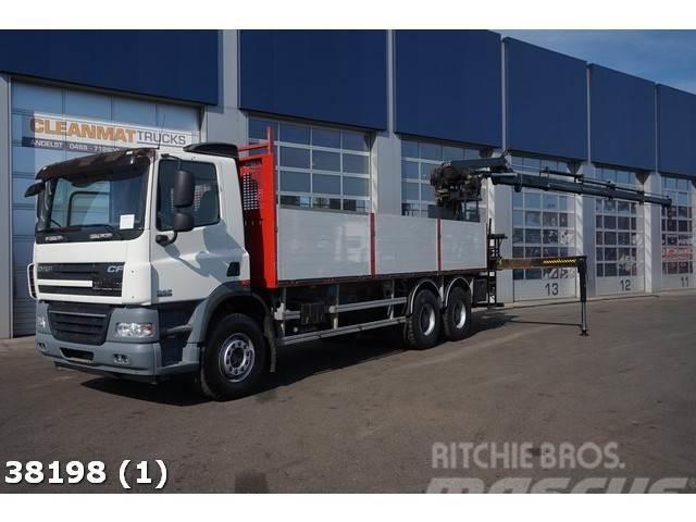 DAF FAT 85 CF 410 6x4 Intarder Hiab 20 ton/meter Kran