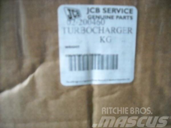 JCB Turbina do JCB koparko-ładowarki JCB, 2011, Backhoe loaders