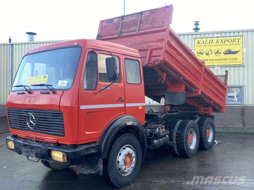 Mercedes-Benz 2632 Kipper 6x4 V10 Big Axle's Good Condition