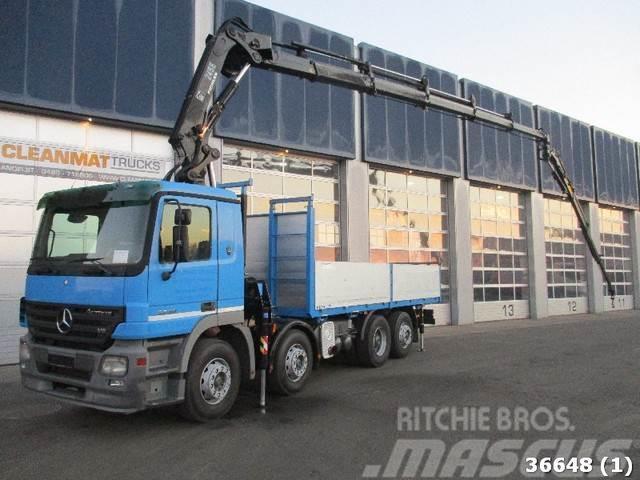 Mercedes-Benz Actros 3250 V8 8x2 Hiab 24 ton/meter laadkraan +JI