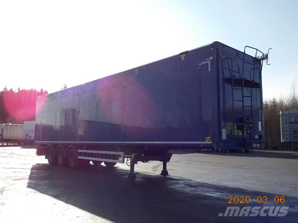 Kraker MOVING FLOOR - HYDRAULIC OPENSIDE