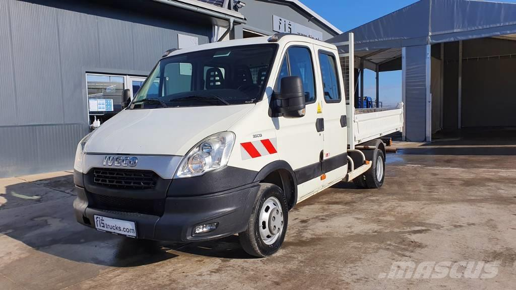 Iveco DAILY 35C13 tipper - 7 seats - ac
