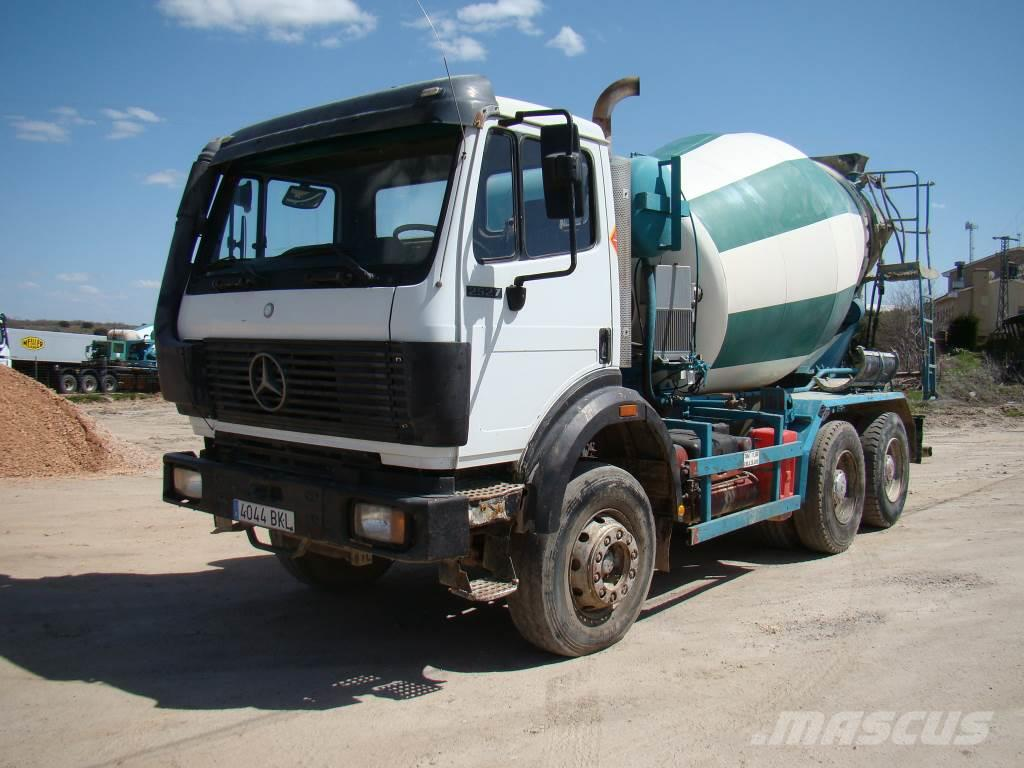 Used mercedes benz 2527 concrete trucks year 1993 for for Used mercedes benz for sale in usa