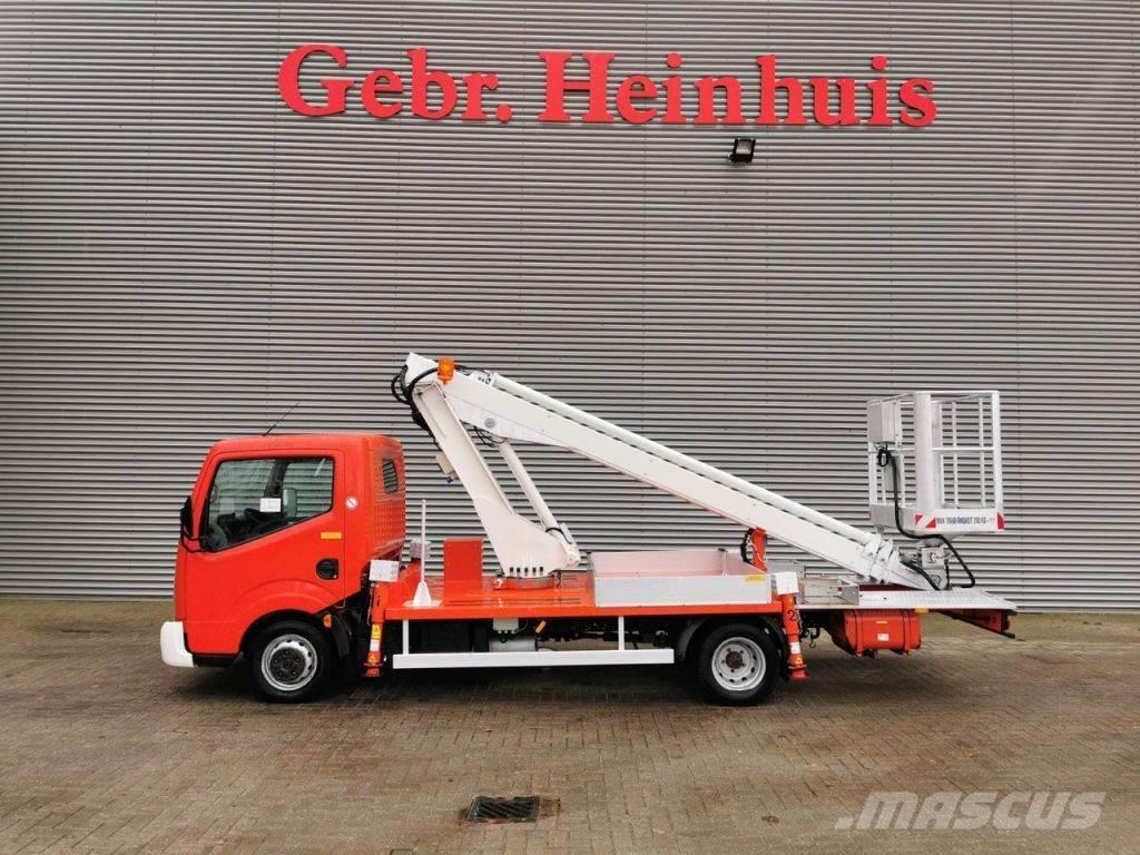 Nissan Cabstar 35.11 Multitel 160 ALU DS 16 meter!