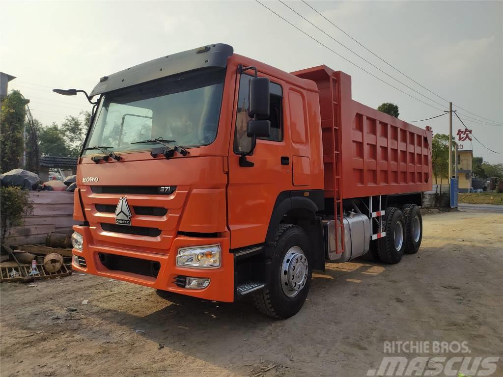 Howo 371HP 6X4 Dump Truck