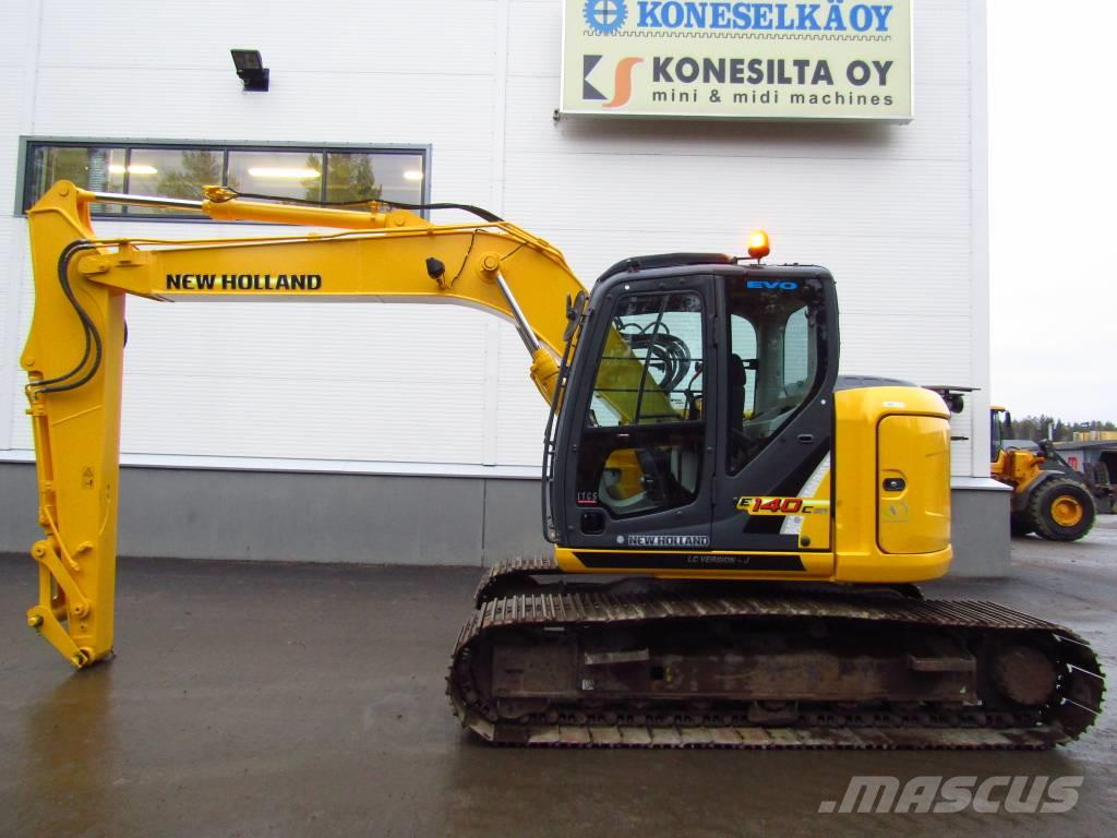 New Holland MYYTY! SOLD! E140CSRLC