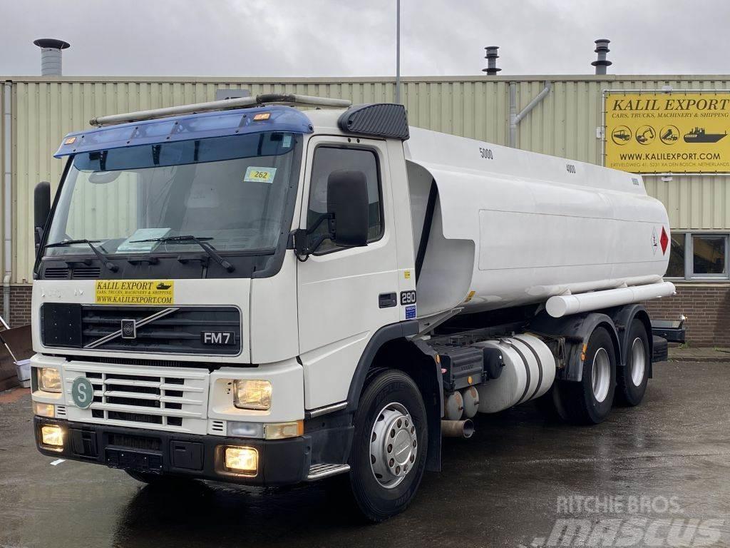 Volvo FM7 Fuel Tank Truck 18.500L 6X2 Spring 10 Tyre Goo