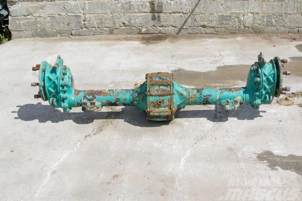 Zettelmeyer ZL 601 axle gear gearbox parts Półoś most wkład