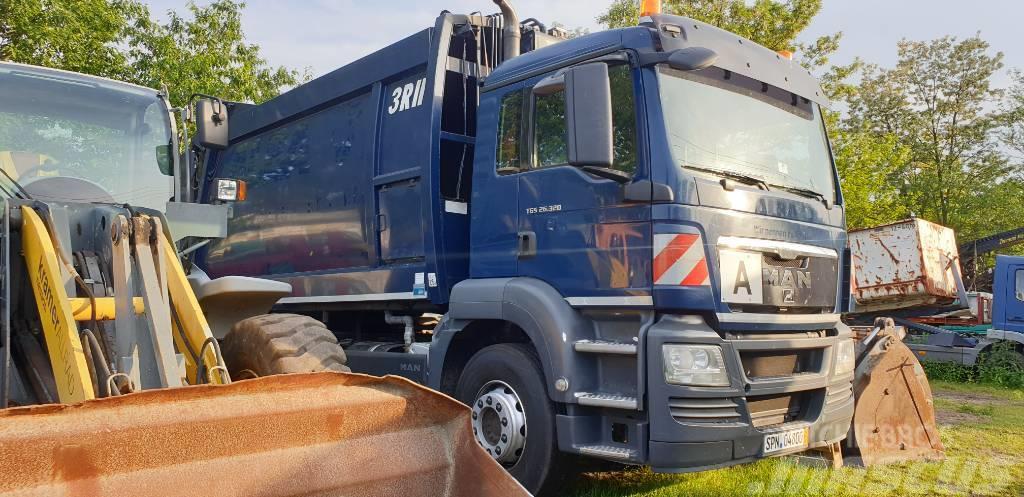MAN TGS 26.320 śmieciarka  Müllwagen  garbage truck