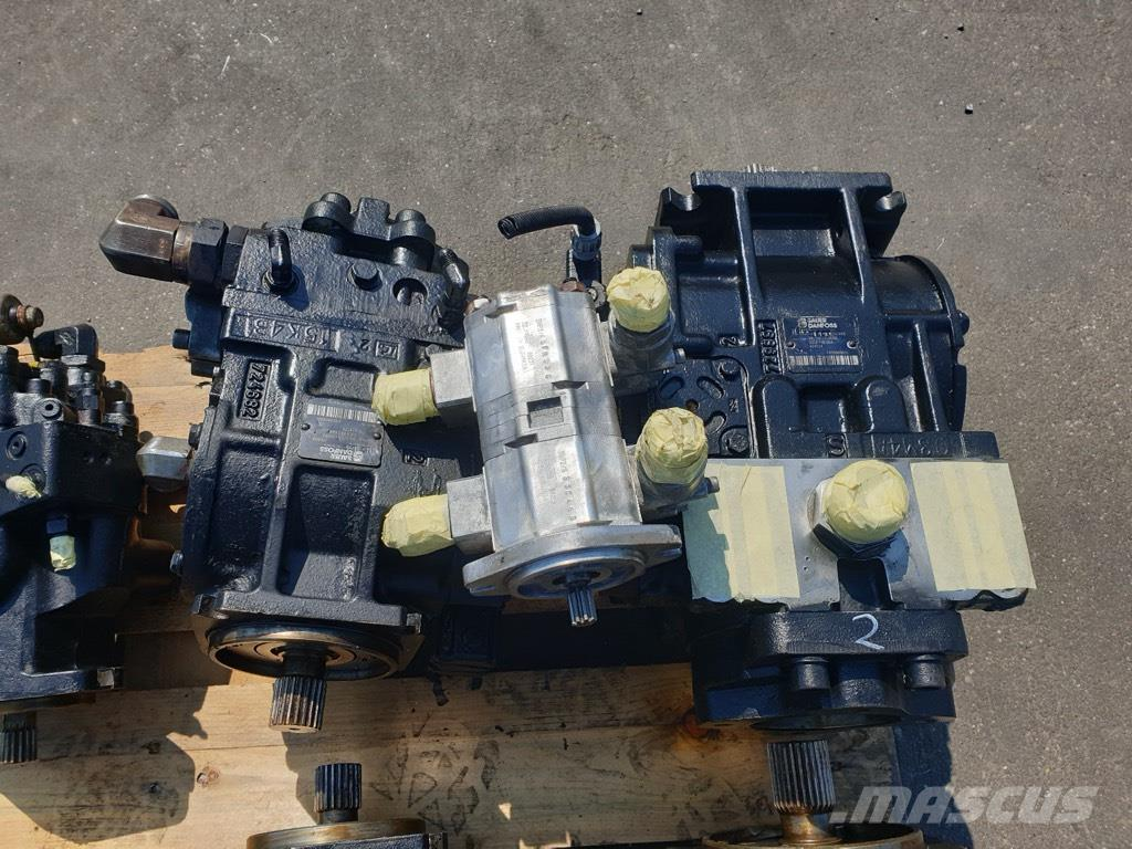 Panien 460 CHALLENGER HYDRAULIC PARTS COMPLET
