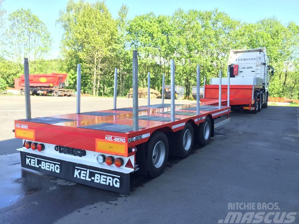 Kel-Berg KRANBIL-SEMI S600 H UTTREKK 10,30M TRIDEC styring