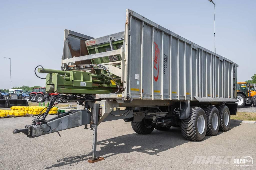 Fliegl ASW 393 Tridem push off trailer