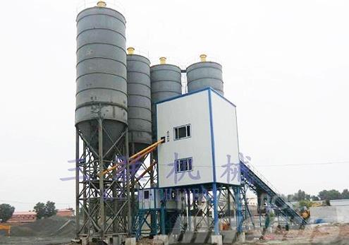 SanLian 180m³/h Cement Concrete Mixing (Tower) Pla