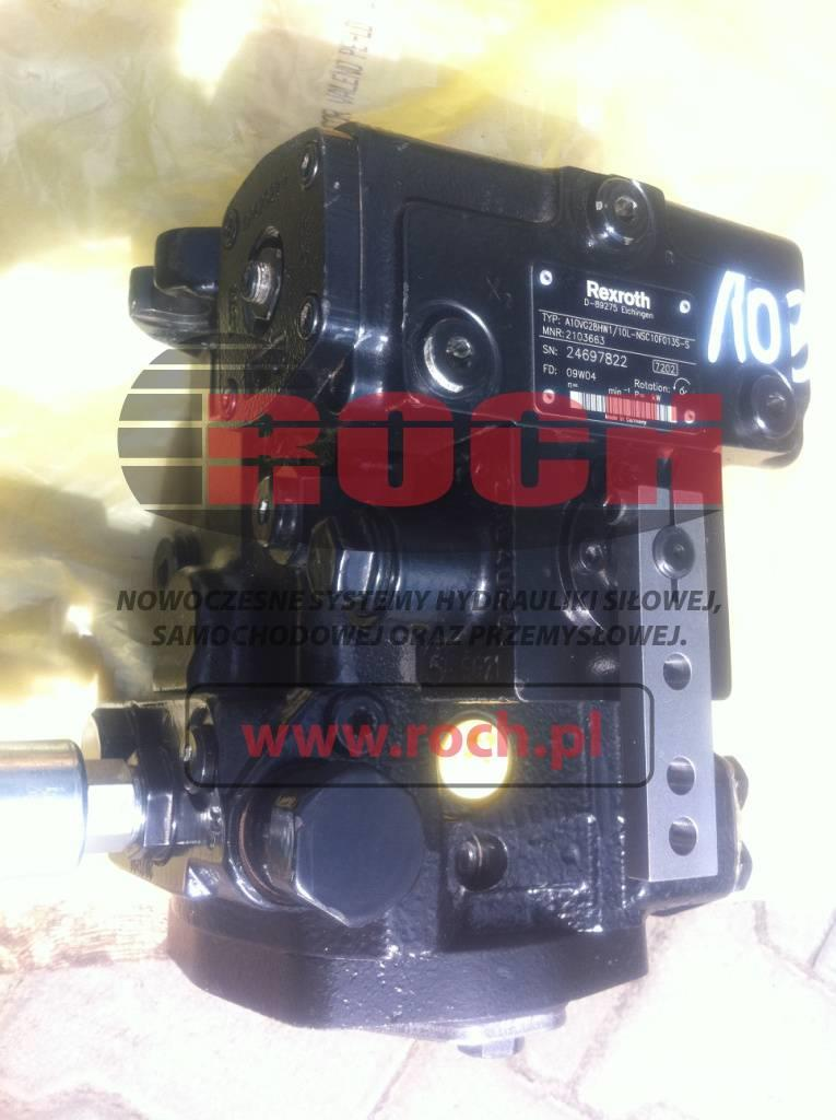 Terex 1731 1894 Rexroth Pompa Pump  A10VG28
