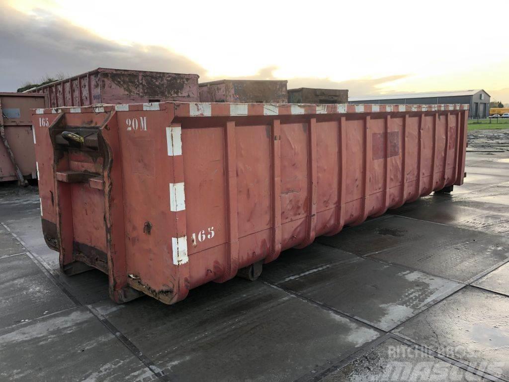 Universal Containerbak 28m³