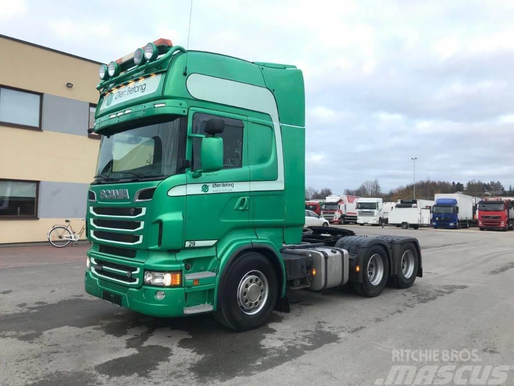 Scania R560 6X4 +EURO5+RETARDER