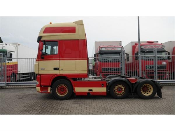 DAF XF 105.460 6X2 MANUAL GEARBOX EURO 5 SUPER SPACECA