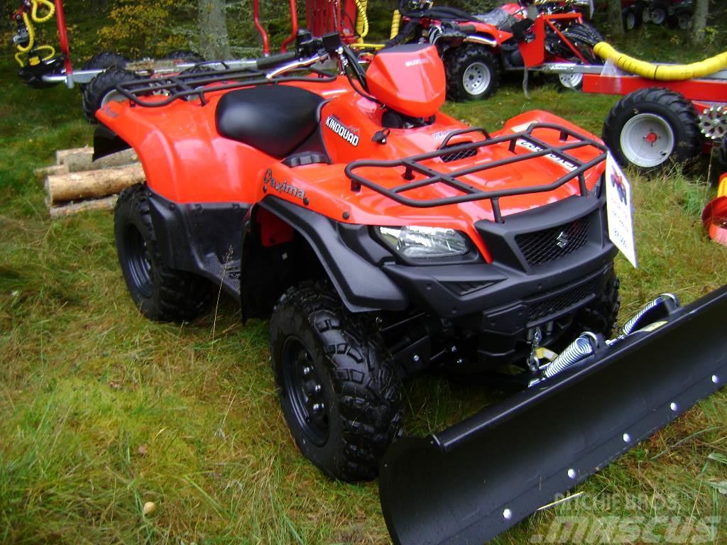 Suzuki 750 demo Med snöblad