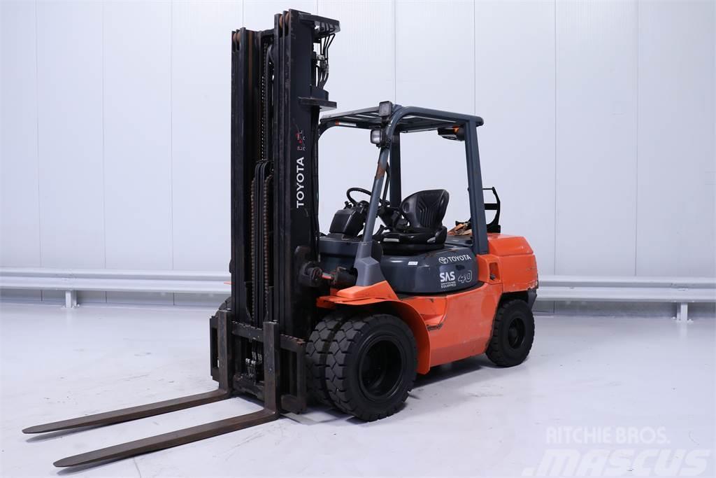Toyota 02-7FG35,4000 kg,triplex,Only 6024 hours