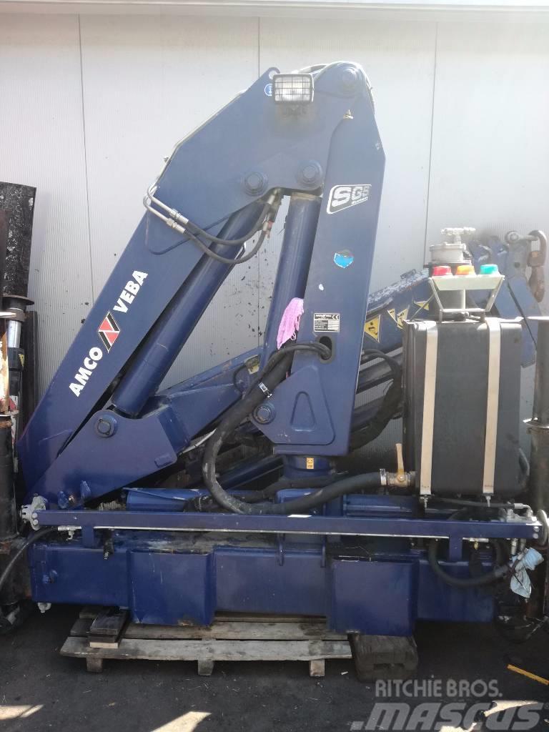 Amco Veba V812 4s Kran Crane HDS