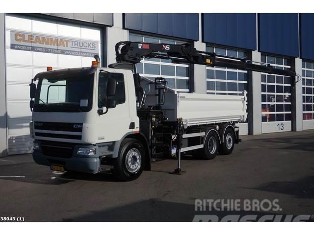 DAF FAN 75 CF 250 Euro 5 EEV Hiab 16 ton/meter laadkra