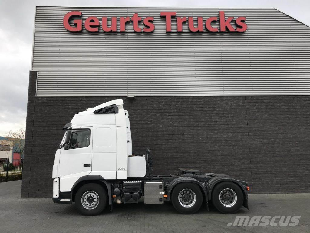 Volvo FH 16 660 6X4 TRACTORS 2 X IN STOCK