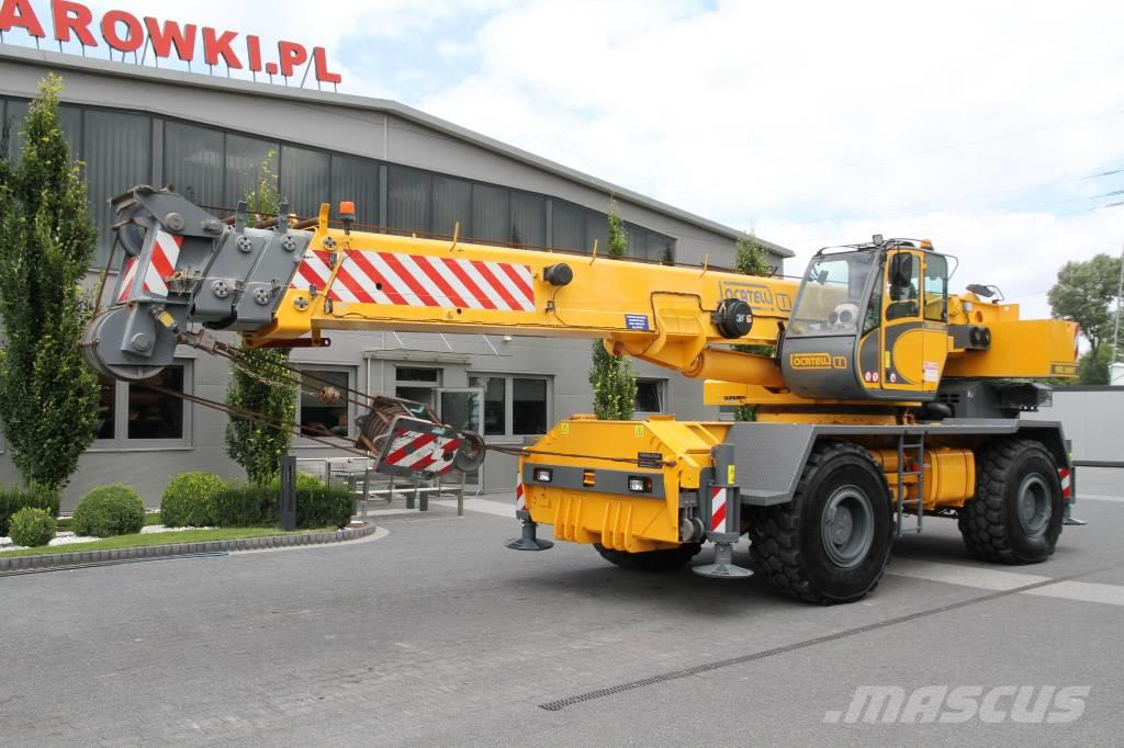 Locatelli ROUGH TERRAIN CRANE GRIL8600T 4x4x4