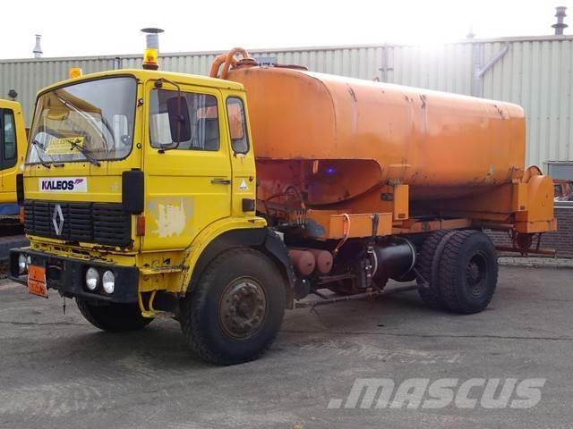Renault GR 191 Watertank 12.000L Full Spring Big Axle Good
