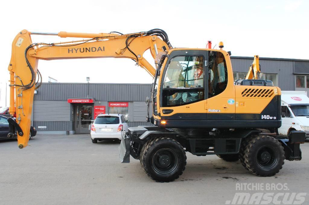 Hyundai Robex 140 W-9