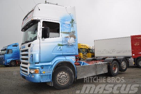 Scania R470 6X2