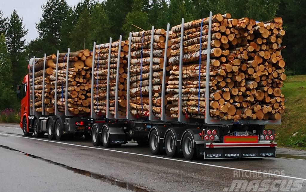 Briab 5-aks puutavaraperävaunu
