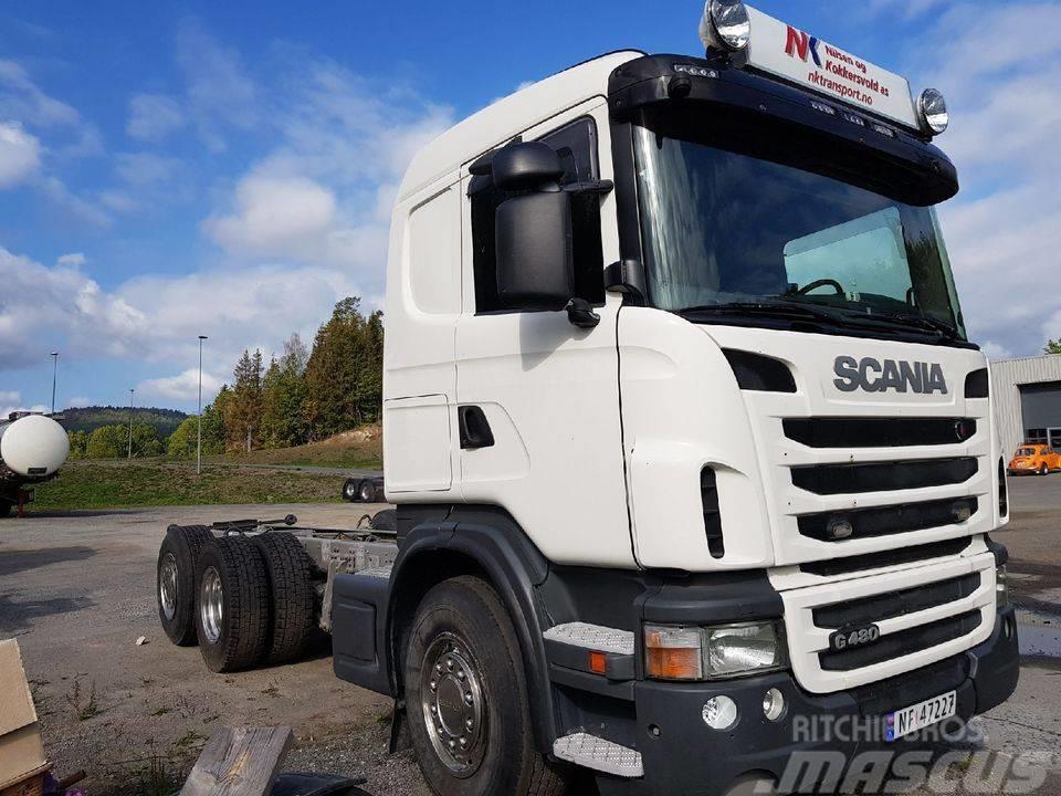 Scania G 480 6x2*4 UNILIFT 20 ton uusi koukku