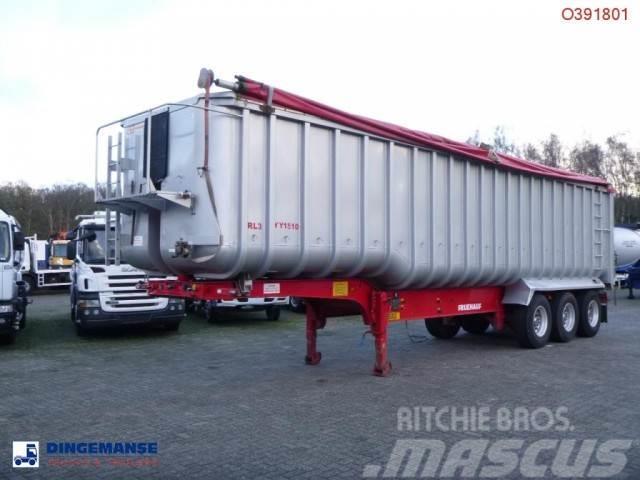 Fruehauf Tipper trailer alu 57 m3