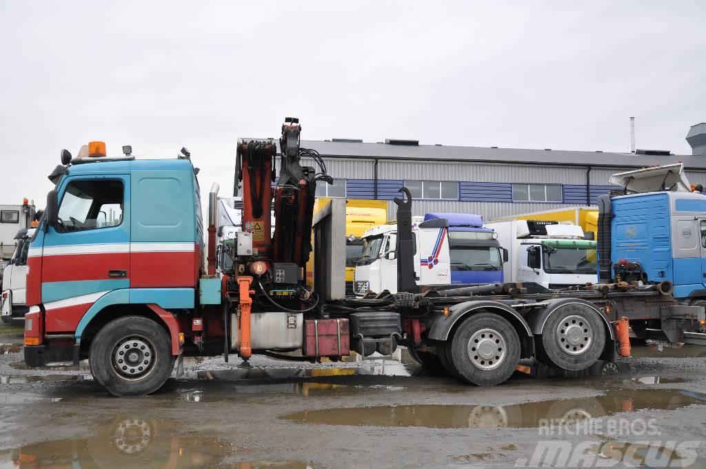 Volvo FH12 420 6X2 Kran&Lastväxlare