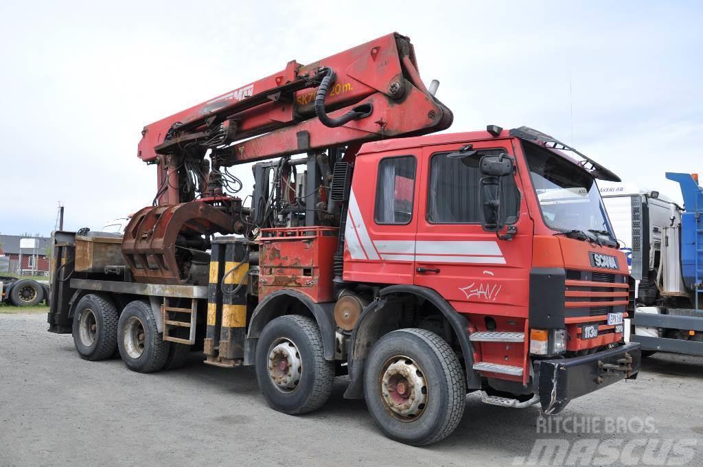 Scania 113  8X4 Seperatlastare