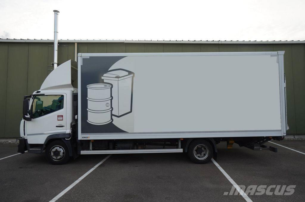 Renault TK02 D 7,5 ton CLOSED BOX MANUAL GEARBOX 189.200KM