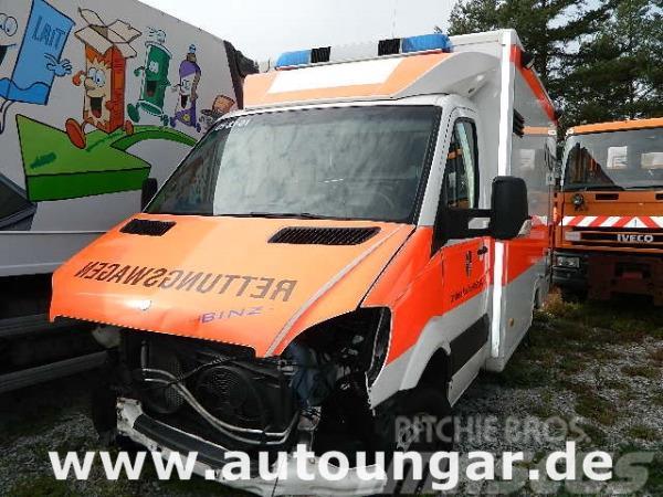 Mercedes-Benz 515 Binz Koffer RTW KTW Ambulanz ATM 36'KM