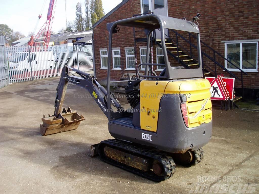 Used Volvo Ec 15 C Mini Excavators