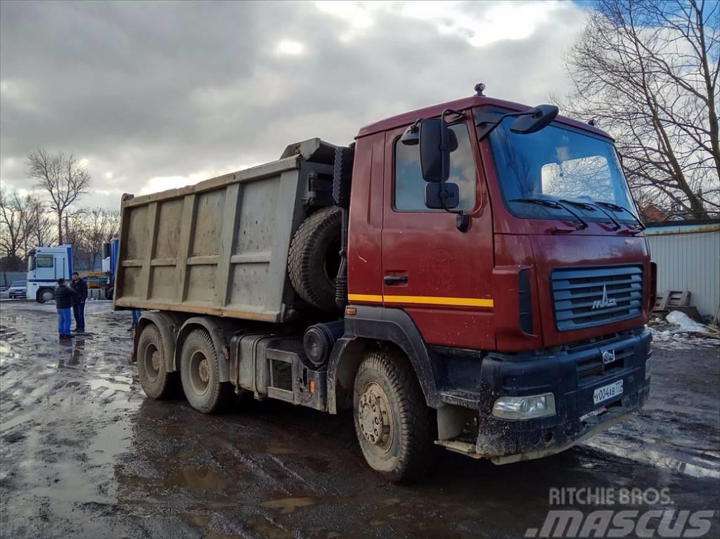 МАЗ 6501В5, 2013, Lastbiler med tip