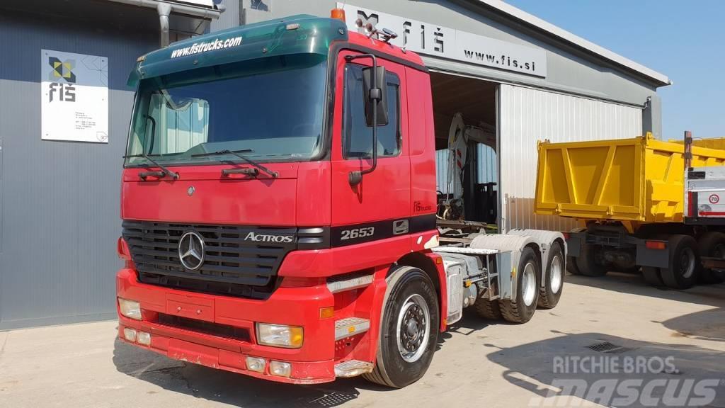 Mercedes-Benz ACTROS 2653 6X4 tractor unit