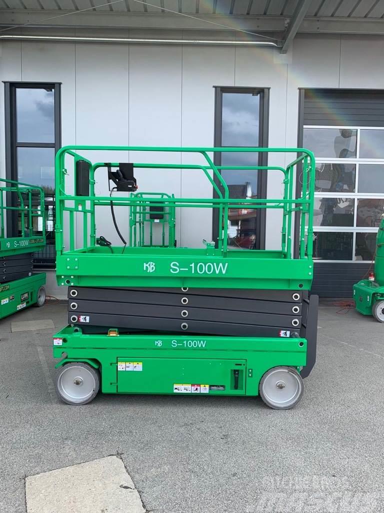 KB-Lift S-100W, NEW 10m electric scissor lift, warranty