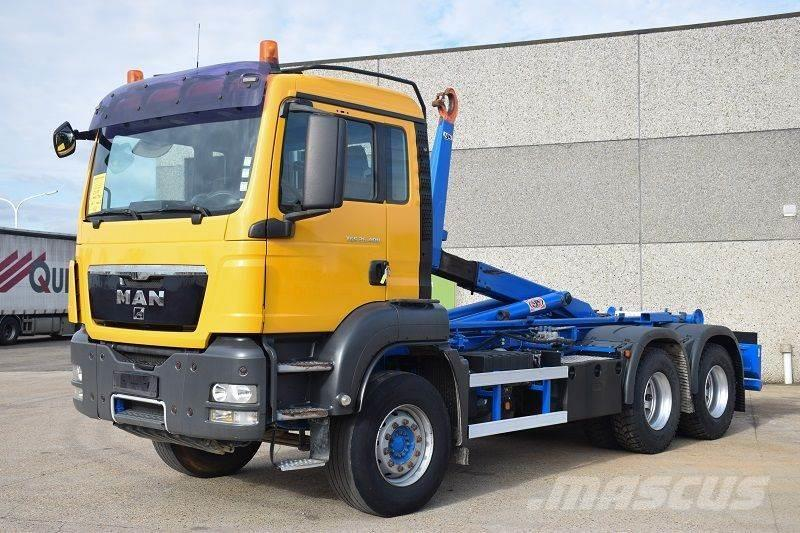 MAN TGS 26.400 6X4 CONTAINER SYSTEEM- CONTAINER SISTEE
