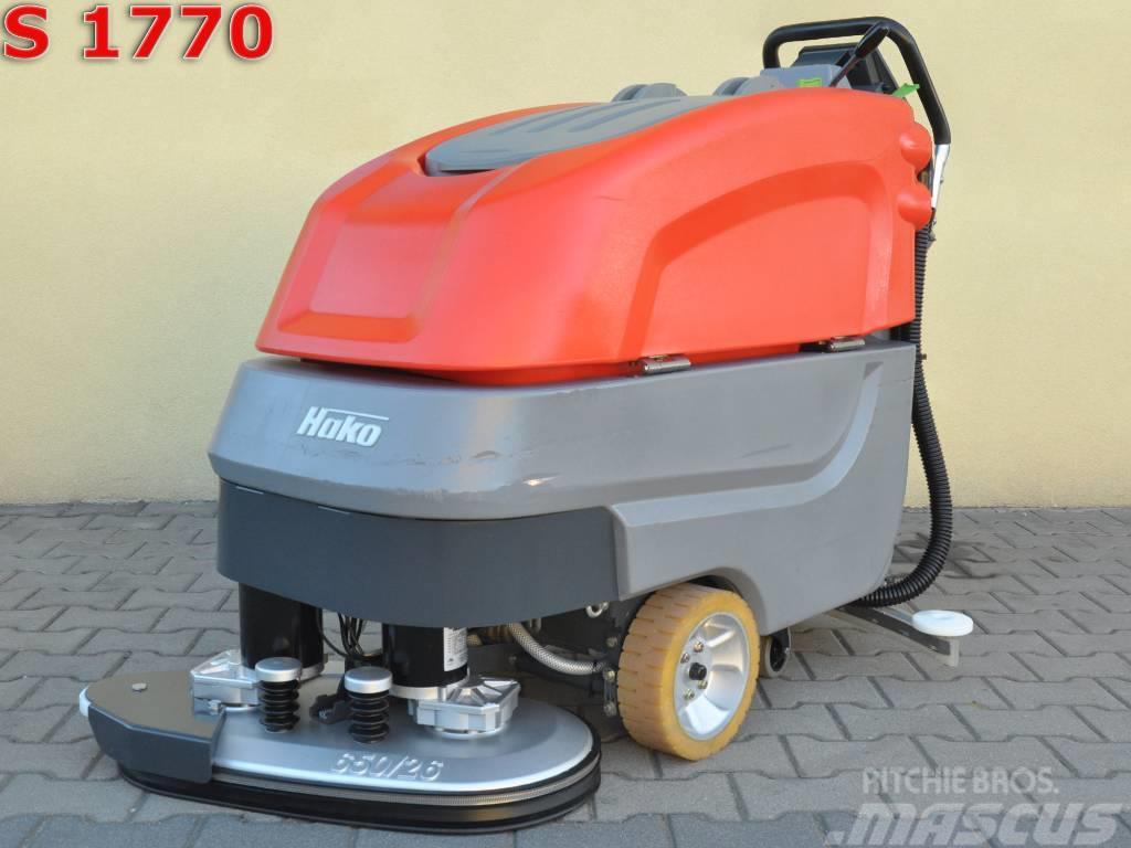 [Other] Scrubber dryer HAKOMATIC B 650/07