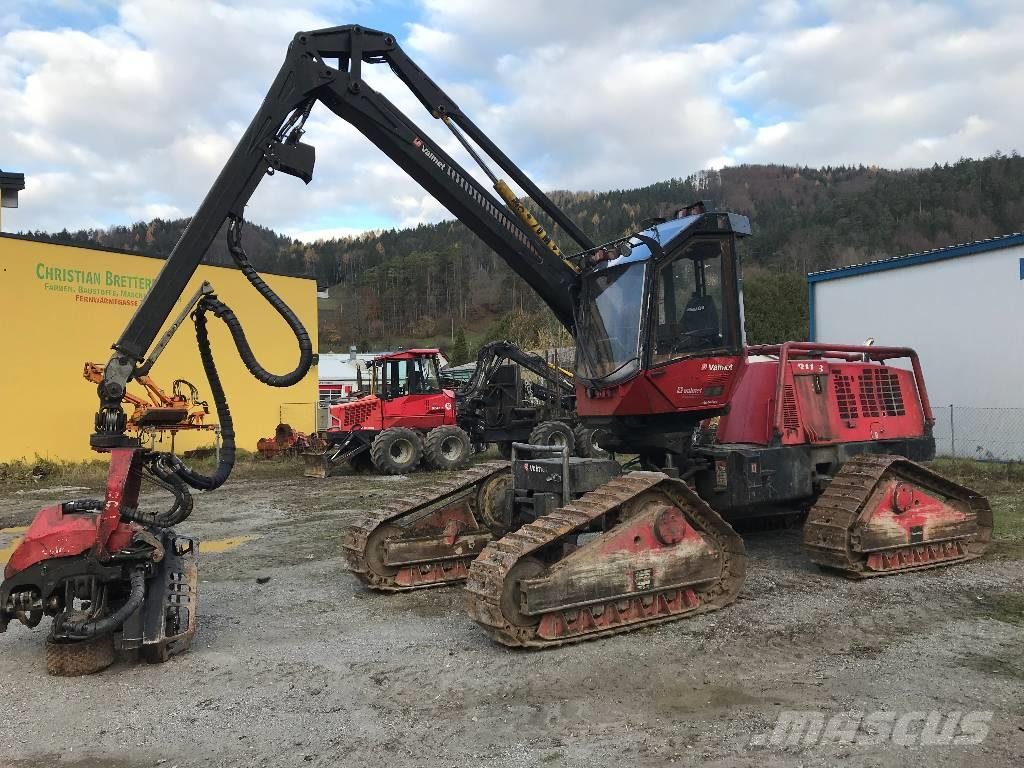 Used Valmet 911 3 X3M harvesters Year: 2008 for sale