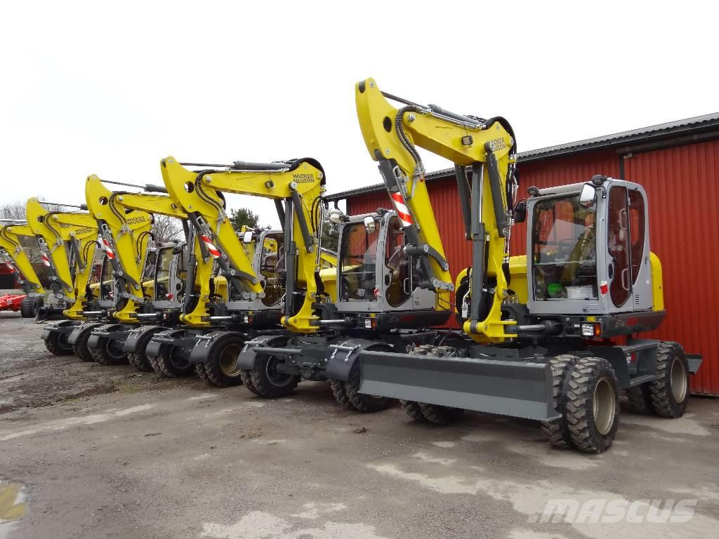 used wacker neuson ew100 wheeled excavators year 2018 for. Black Bedroom Furniture Sets. Home Design Ideas