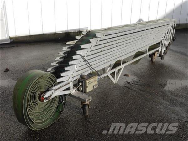 Wevab inschuifbare transportband Duijndam Machines